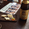 あらい - 料理写真:ビールはエビス