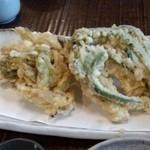 38350001 - 春山菜の天ぷら