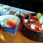 菊寿司 - ちらしランチ@¥1080
