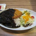 レストラン クロワッサン - 黒カツカレー