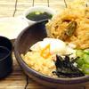 讃岐屋 - 料理写真:ごぼう天温玉ぶっかけうどん