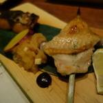 蔵人厨 ねのひ - 2015.05 焼き鳥と焼き魚