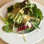 ステーキハウス - ランチセットサラダ