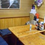 千両 - 奥のテーブル席