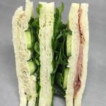 政次郎のパン - 150526 サンドイッチ