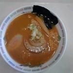 スーパーセンターアマノ イートイン 男鹿店 - 味噌ラーメン:300円(税込)【2015年4月撮影】
