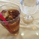 ル・ミディ - ドリンク写真:ドリンクはウーロン茶頂きました。ワインも選べます♪