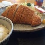 38353696 - ロースカツ定食