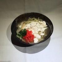 中村商店 - ゆしどうふそば      600円~