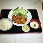 中村商店 - チキン照り焼き定食    800円