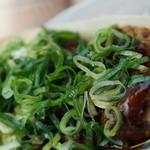 たこ焼 神楽 - 料理写真:ネギソース