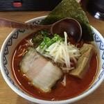 極麺 小次郎  - 赤鬼らぁ麺