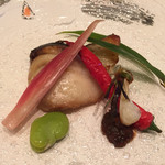 白樺 - 鰆西京焼き