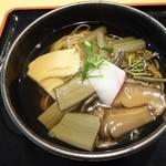 四季美谷温泉  - 山菜そば