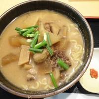 四季美谷温泉 -鹿肉またぎラーメン