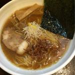 麺屋 あさ蔵 - 煮干し醤油ラーメン 麺大 800円税込