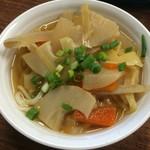 谷川製麺所 - 小250円