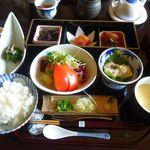 離れの宿 よもぎ埜 - 朝食和食