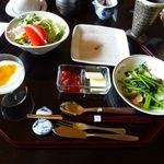 離れの宿 よもぎ埜 - 朝食洋食