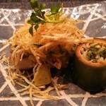 星のや 京都 ダイニング - 焼物 真名鰹馬鈴薯焼き