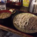 38370232 - 【つけ麺 合盛 鴨汁】(790円税込)