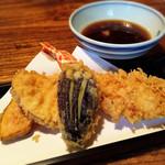 凡味 そばきり - 天せいろの天ぷら。
