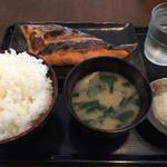 食事処 桜の木 - 銀鮭 大盛 ¥1000