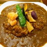 イシノナカ - 揚げ野菜のカレー