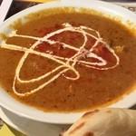 カフェ・ド・天竺 - チキンカレーです。