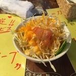 カフェ・ド・天竺 - サラダは普通ですね。