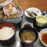 みはらし - 刺身と天ぷら膳