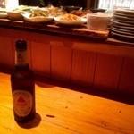 壌 - バス瓶ビールで乾杯!