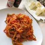 カフェブリッジ - 料理写真:美味しいナポリタン