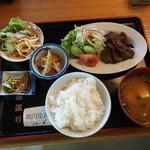 國盗り - 鹿肉定食\1,200-
