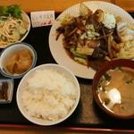 國盗り - ジンギス定食 \1,000-