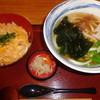 杵屋 - 料理写真:親子丼セット