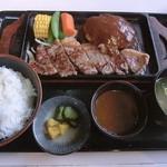 みみてい - 料理写真:ステーキ&ハンバーグ定食