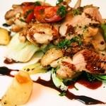 ラ・クチネッラ・ディ・ヤマモト - セットランチ(大山地鶏のオーブン焼き バルサミコソース)