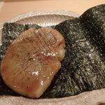 寿し おおはた - タイラガイの海苔巻き