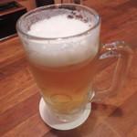 いちげん - 生ビール