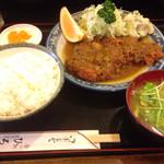 食べ処 ひろせ - カツカレー 920円
