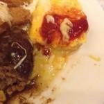 オレンジハウスすえひろ亭 - オムレツはチーズ入り