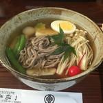 一福茶屋 - 料理写真:三千院蕎麦