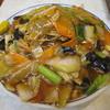 水新菜館 - 料理写真:あんかけ焼きそば 具大盛り、麺大盛り