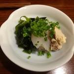 魚菜 - お通し