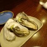 魚菜 - 牡蠣の酒蒸し