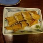 魚菜 - 穴子あぶり