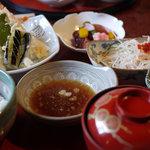 そのべ さくら亭 - 料理写真:天ぷらはかなりのハイグレード!