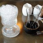 コーヒーハウス葡萄畑 - アイスコーヒー