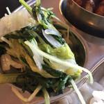 ブッダ - ダルバートの野菜